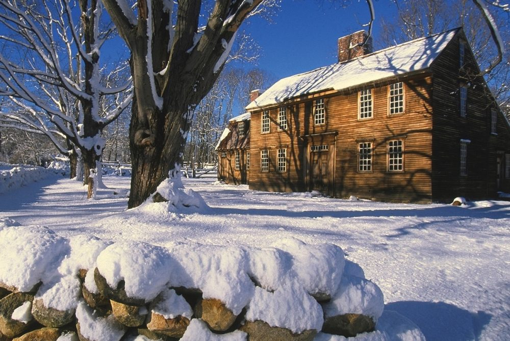 Visit Minute Man National Historical Park near Concord and see and Hartwell Tavern. It sits on what is called Battle Road, where British soldiers marched in 1775.
