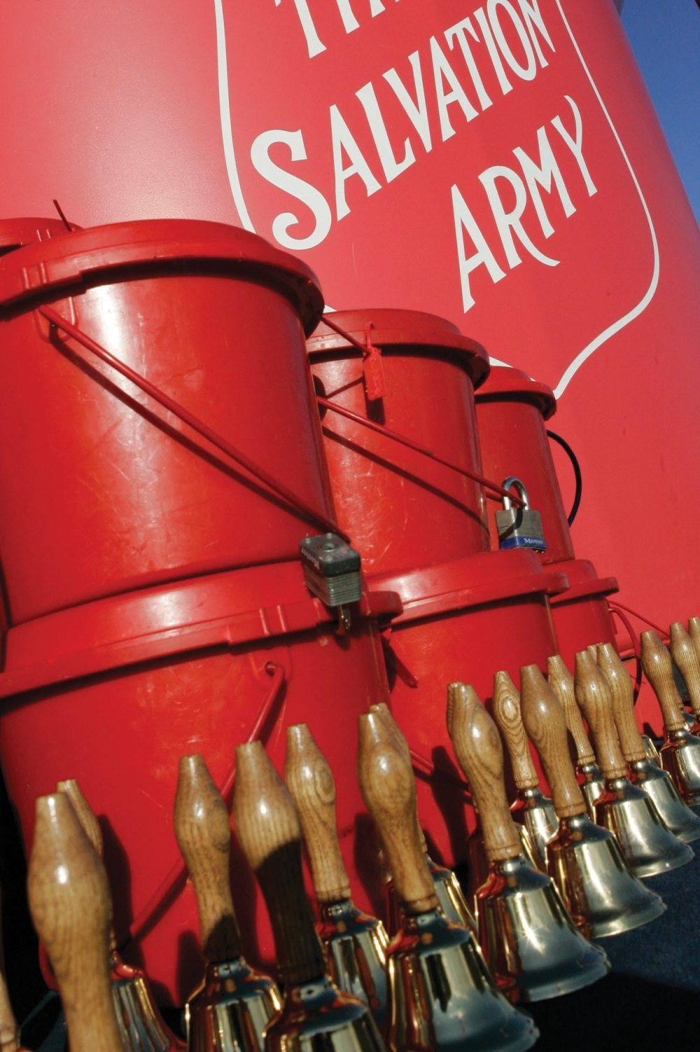Red kettles and shiny bells have become signature symbols of The Salvation Army. Through the organization's partnership with private and public philanthropy, it continues to bring comfort to the needy while proclaiming God's redemptive love.