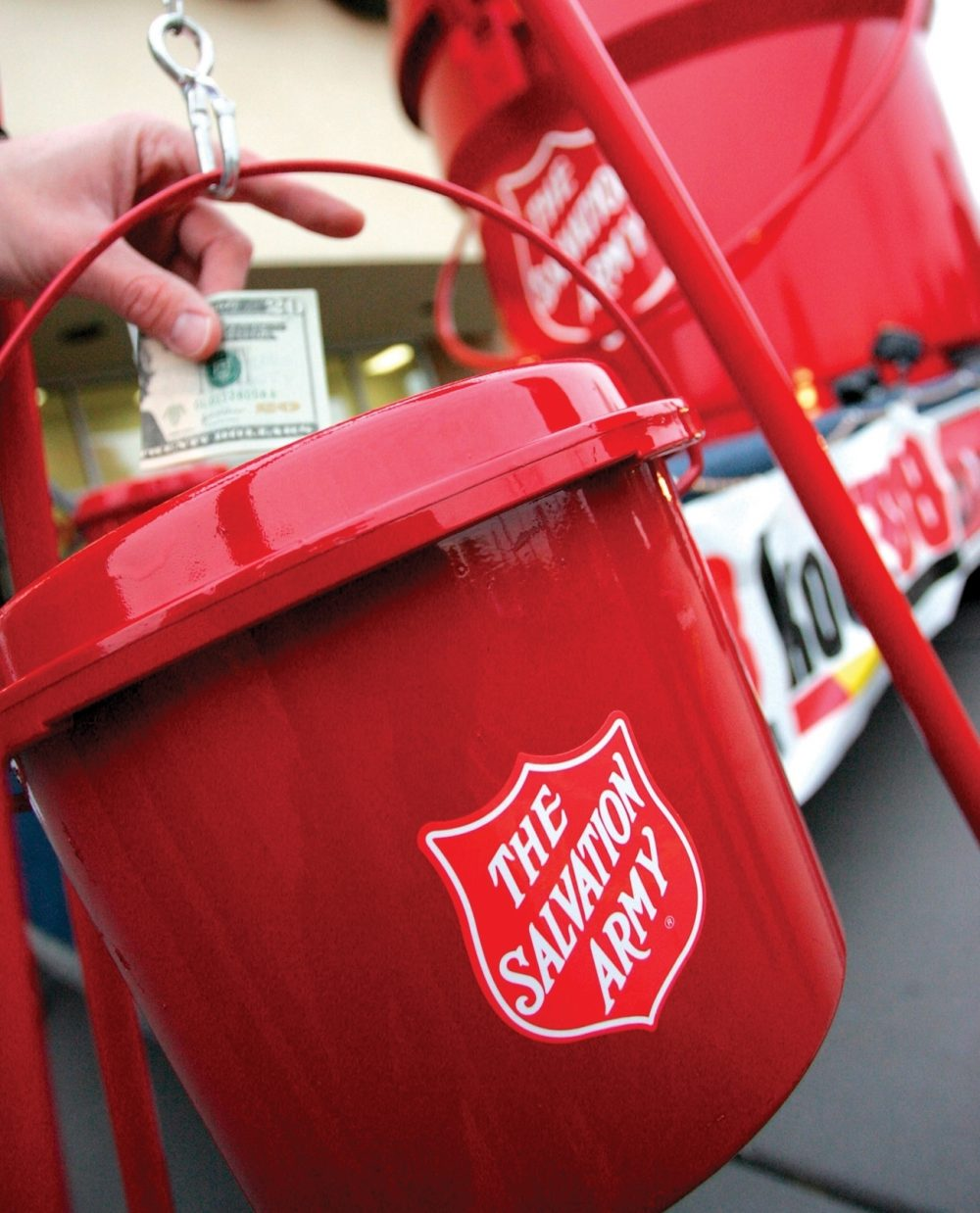 Contributions to The Salvation Army's Red Kettle Campaign enable the organization to continue its year-round efforts of helping those who would otherwise be forgotten.