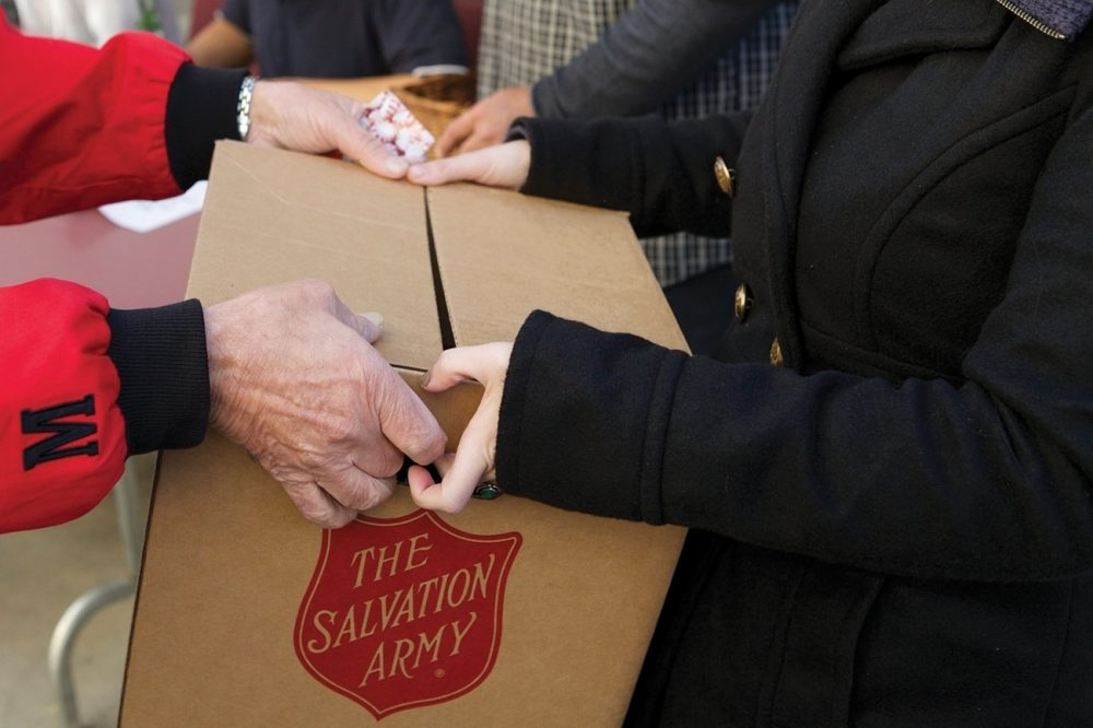 When hard times hit, The Salvation Army makes sure people's basic needs are met. Whether it's a box of groceries to get through the weekend or assistance paying a bill, every local center has representatives ready to help.