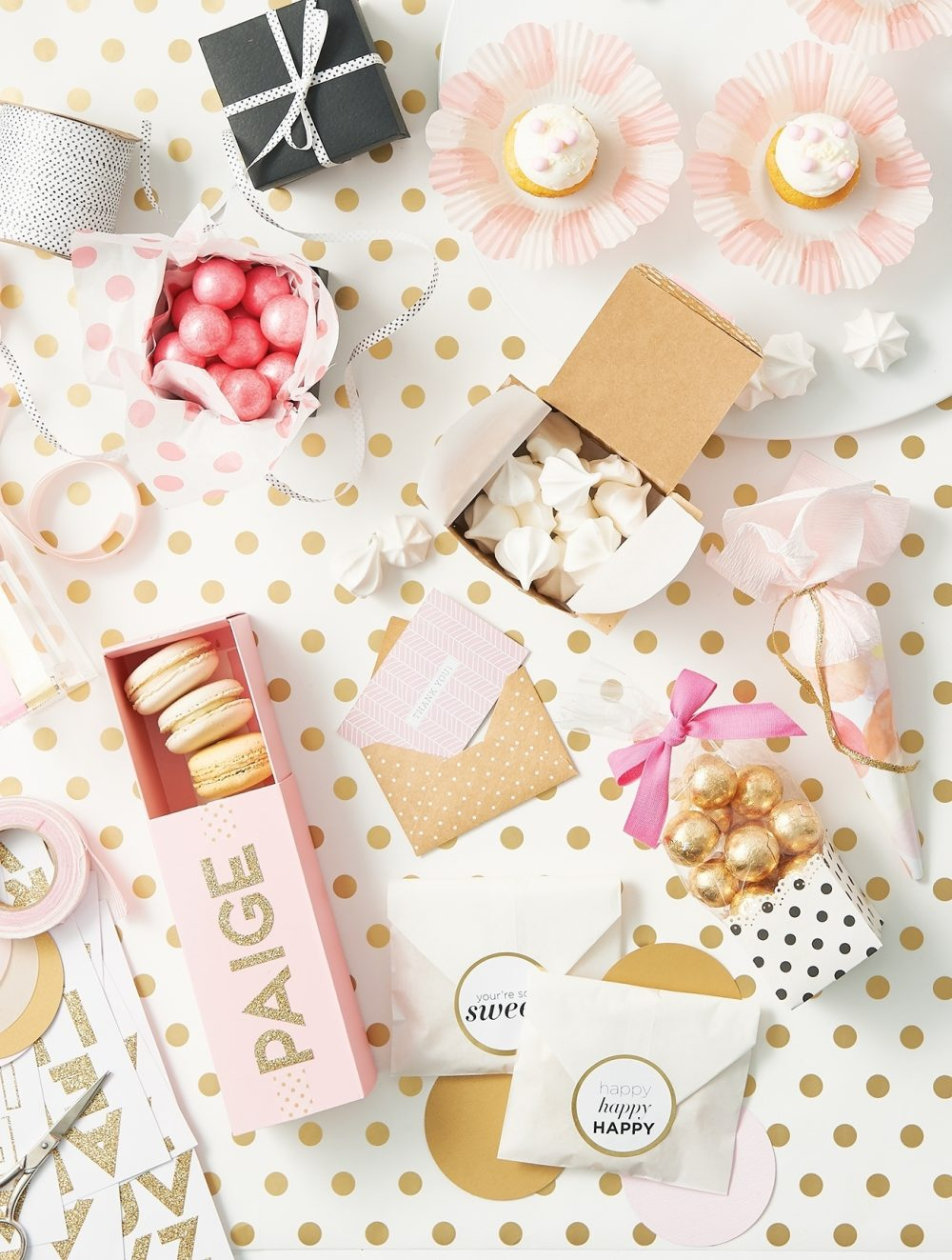 """Decorating for a party is all about the details, so don't forget that every 'i"""" needs a dot—and maybe everything else does too."""