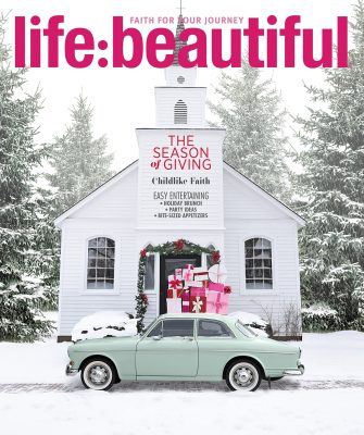 Life:Beautiful Magazine Holiday 2018 cover