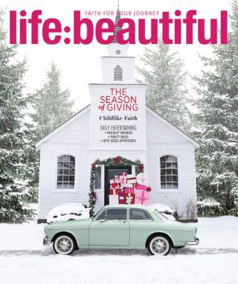 Life:Beautiful Magazine Holiday 2018 cover