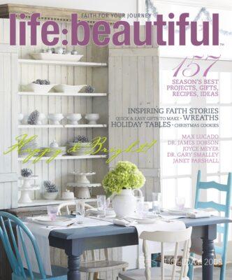 Cover of Life:Beautiful magazine Holiday 2009