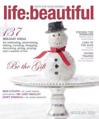 Cover of Life:Beautiful magazine Holiday 2010