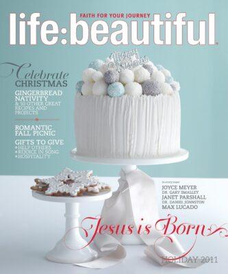 Cover of Life:Beautiful magazine Holiday 2011