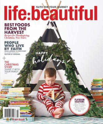 Cover of Life:Beautiful magazine Holiday 2015