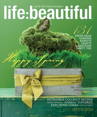 Cover of Life:Beautiful magazine Spring 2010