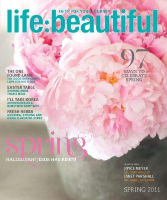 Cover of Life:Beautiful magazine Spring 2011