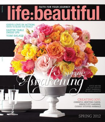 Cover of Life:Beautiful magazine Spring 2012