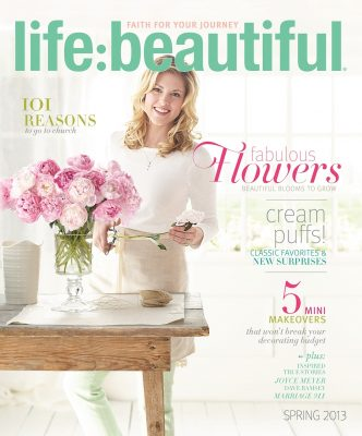 Cover of Life:Beautiful magazine Spring 2013