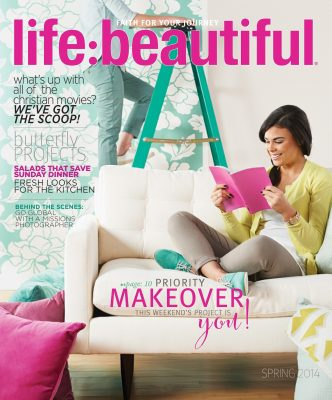 Cover of Life:Beautiful magazine Spring 2014