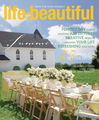 Cover of Life:Beautiful magazine Summer 2008