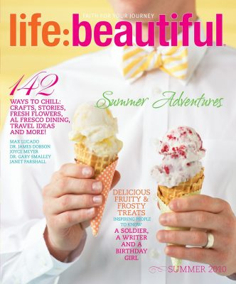 Cover of Life:Beautiful magazine Summer 2010
