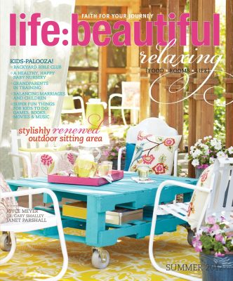 Cover of Life:Beautiful magazine Summer 2012