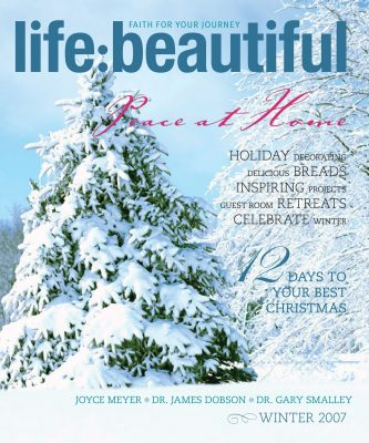 Cover of Life:Beautiful magazine Winter 2007