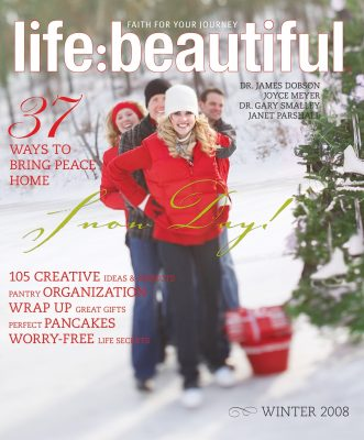 Cover of Life:Beautiful magazine Winter 2008
