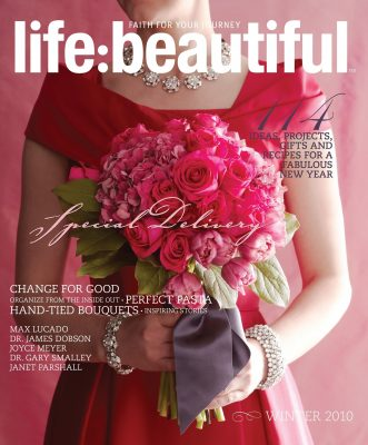 Cover of Life:Beautiful magazine Winter 2010