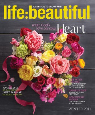 Cover of Life:Beautiful magazine Winter 2011