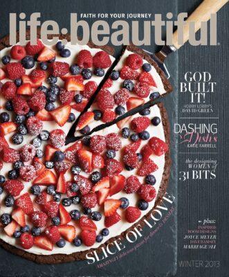 Cover of Life:Beautiful magazine Winter 2013