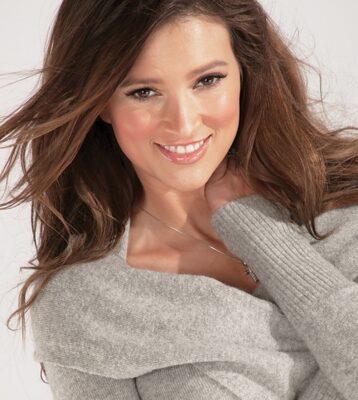 Portrait of model Kylie Bisutti