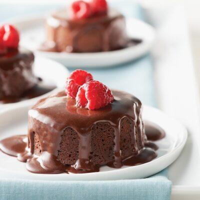 Chocolate Berry Surprise, a healthier cake recipe