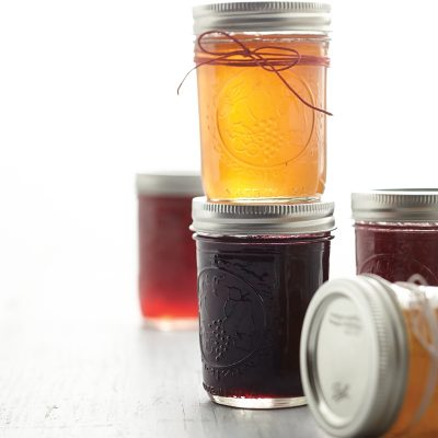 Capture the season at its sweet peak by making homemade fruit jam in a variety of flavors.