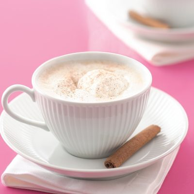 Packed with the seasonal flavors of cloves, cardamom and nutmeg, this latte is not just tasty, but also aromatic.