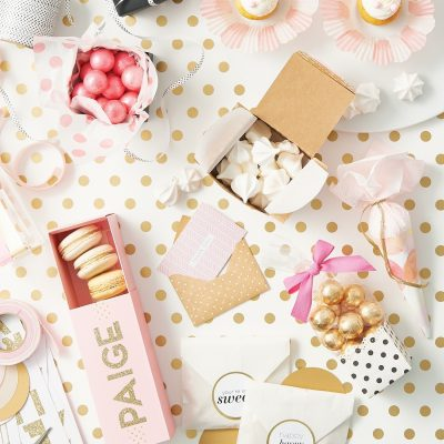 "Decorating for a party is all about the details, so don't forget that every 'i"" needs a dot—and maybe everything else does too."