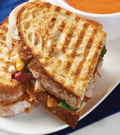 signature panini sandwiches