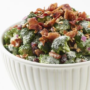 Broccoli Salad is an easy make-ahead recipe.