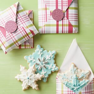 Life:Beautiful's Frosted Sugar Cookies are tender, yet firm enough to hold up to artful decorating.