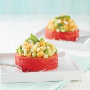 Melon Pedestal Salad