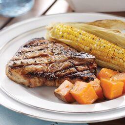 2009 Summer Grilled Pork Chops
