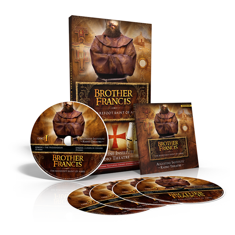Brother Francis 5-CD Audio Drama & Discussion Guide - Augustine Institute