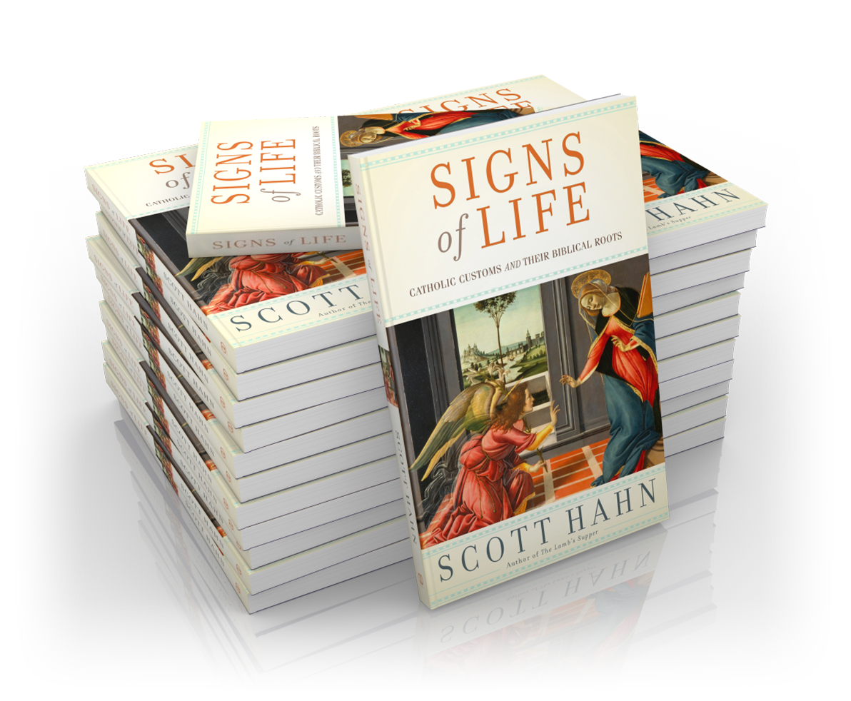Signs of Life: Catholic Customs and Their Biblical Roots - Case of 40 Books - Dr. Scott Hahn