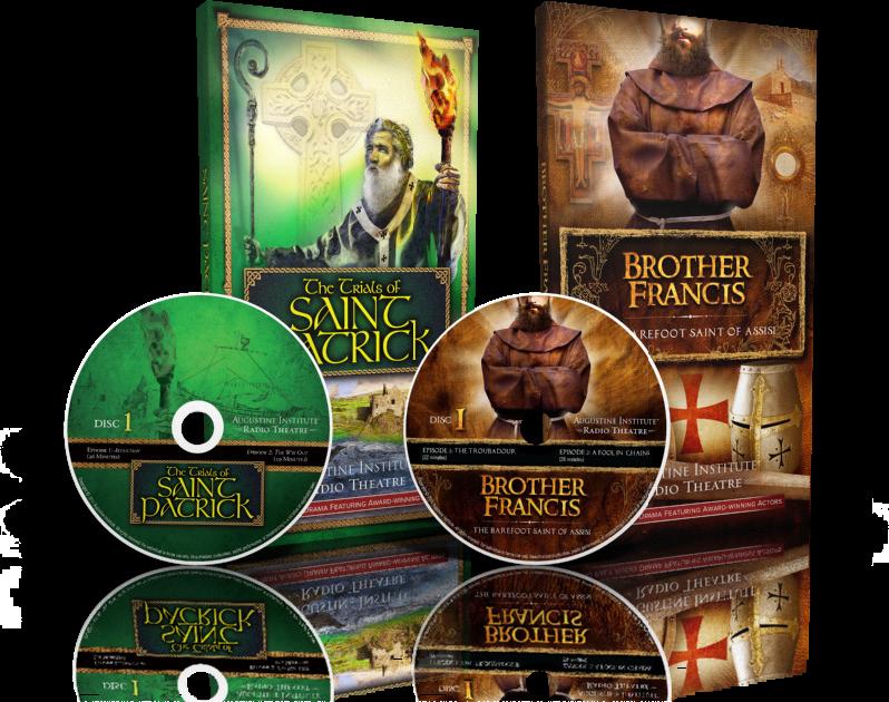 The Trials of Saint Patrick & Brother Francis Audio Dramas BOGO - Augustine Institute