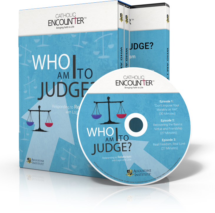 Who Am I to Judge? - DVD Set - Dr. Edward Sri