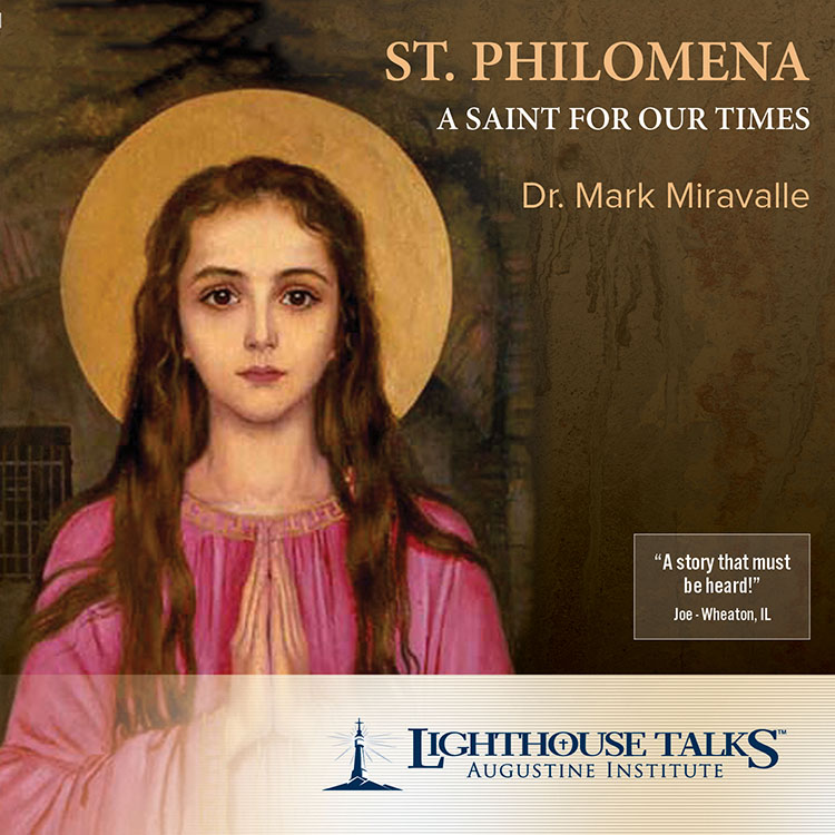 St. Philomena - A Saint For Our Times | Dr. Mark Miravalle | faith raiser | catholic media | new evangelization | catholic cd | catholic mp3