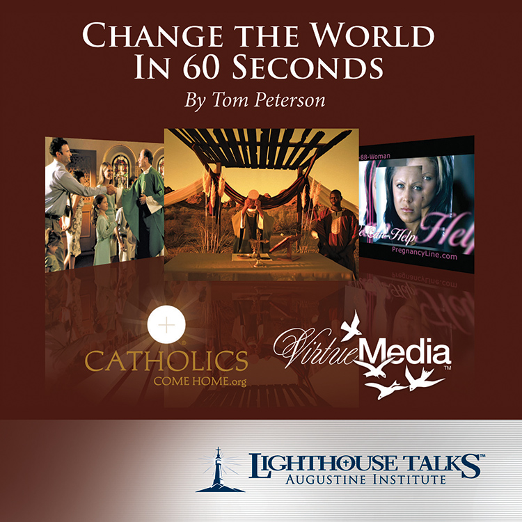 Change The World In 60 Seconds | faith raiser | year of faith | new evangelization | catholic cd | catholic mp3 | catholic media | catholic faith