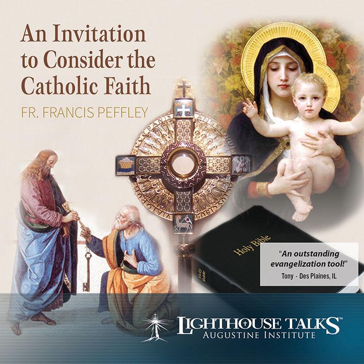 An Invitation to Consider the Catholic Faith | faith raiser | faithraiser | catholic media | new evangelization