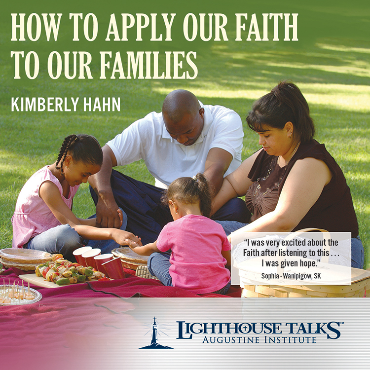 How to Apply our Faith to our Families Catholic CD or Catholic MP3 | Dr. Scott Hahn | Catholic Media | New evangelization | Year of faith