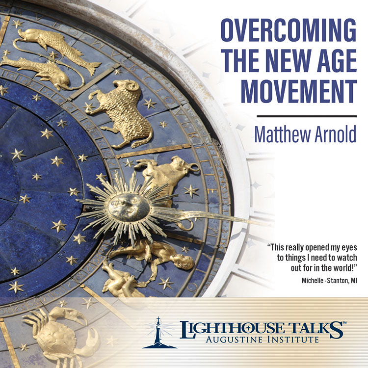 Overcoming the New Age Movement | Matthew Arnold | faith raiser | catholic media | new evangelization | year of faith | catholic cd | catholic mp3