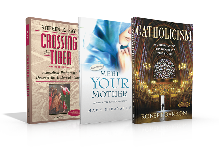 3-Book Bundle: Crossing the Tiber, Catholicism, and Meet Your Mother