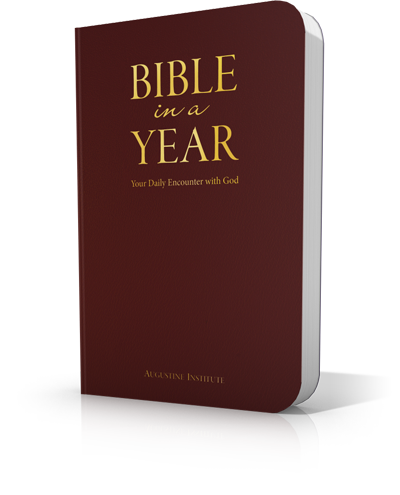Bible in a Year - Leather-bound - Augustine Institute