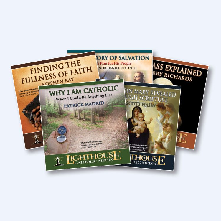 Why Catholic 5 CD Bundle by Lighthouse Catholic Media | Faith Raiser | Faithraiser | New Evangelization | Catholic Media