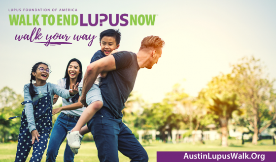 Virtual Walk To End Lupus Now, Austin