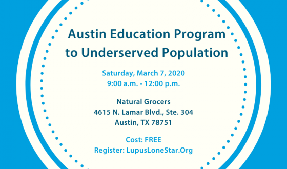 Austin Lupus Education Program To Underserved Population