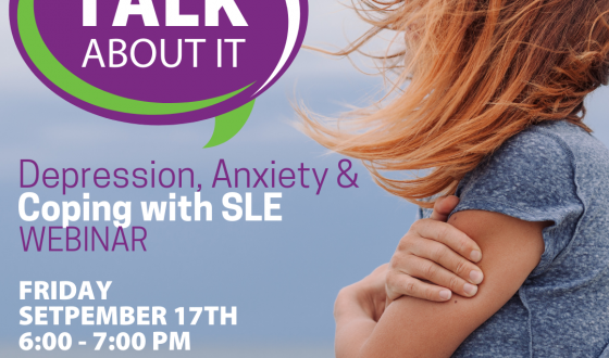 Depression, Anxiety and Coping with SLE: When and How To Seek Help Webinar