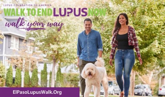 Virtual Walk To End Lupus Now, El Paso